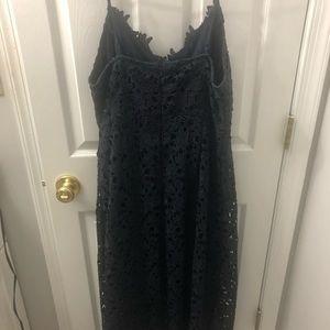 Astr the label navy blue dress